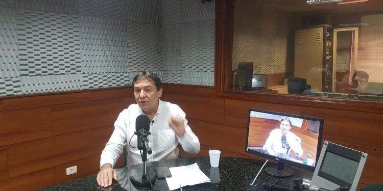 Chico Brasileiro na entrevista de hoje (23). Foto: Rádio Cultura